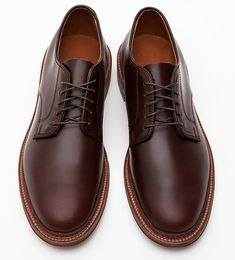 Some of the finest shoes made in America - Alden Leather Bluchers