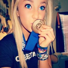 Peyton Mabry, Cheer Athletics from Kythoni's Cheer Athletics: Jamie Andries | Peyton Mabry | Carly Manning board