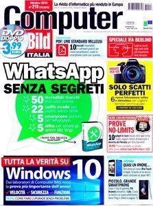 Computer Bild Italia – Ottobre 2015 Italian | 70 pages | Scan PDF | 104 MB Download Links https://tusfiles.net/clenpxsnh4wu  http://depositfiles.com/files/m4bt3w8hi  http://www.easybytez.com/xnv2lk9xml5w  http://cloudsix.me/q5qn97fxn95e/CompuItaliaOttobre2015.rar  http://www.uploadable.ch/file/8NMVq6K9wAMD/CompuItaliaOttobre2015.rar Password: riviste