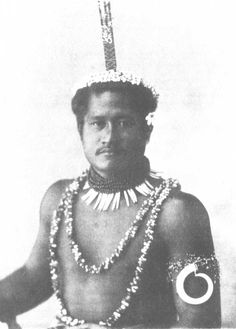 The Samoa Islands by Dr Augustin Kramer 1901 A chief s son manaia.
