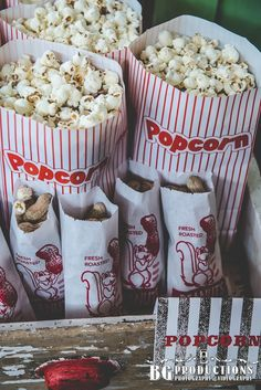 I feel like my wedding has to have popcorn, don't you?