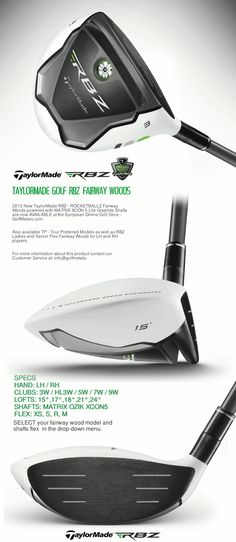 Taylormade Woods And Lady On Pinterest