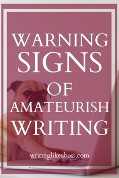 Creative Writing 109845678399170283 - 10 Warning Signs of Amateurish Writing & How to Fix Them Source by mordjana Creative Writing Tips, Book Writing Tips, Writing Words, Fiction Writing, Writing Process, Writing Resources, Writing Help, Writing Skills, Writing A Novel