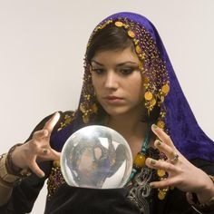 Fortuneteller costumes are colorful and exotic.