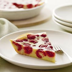 Raspberry Clafouti, a classic French dessert (and simple to make!)