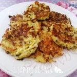 Frittelline di patate alle cipolle