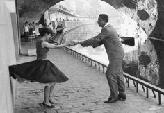Rock 'n' Roll dancers, Paris, 1950. Photo by Paul Almasy.