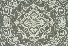 Filet Lace Round Cloth