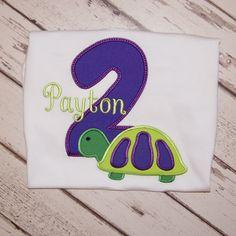 2nd Birthday Turtle Shirt - Turtle Birthday Shirt - Turtle Shirt - Birthday Outfit - Birthday shirt