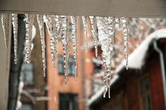 Rain, sleet, ice and snow — no matter what form it's in, precipitation can lead to major winter damage resulting in many issues for home and Ice Dam Removal, Winter Storm, Protecting Your Home, Water Damage, Arrow Necklace, Restoration, Diamond, Centre, Rain