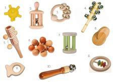 Perfect Montessori rattles