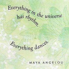 Everything dances...