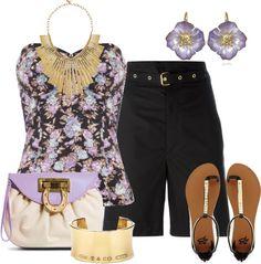 Outfits de Moda ...Me Tomo Cinco Minutos: Bermudas