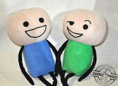 мягкая игрушка Cyanide & Happiness своими руками