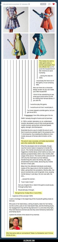 Yes, I Would Totally Play This Game#funny #lol #lolzonline