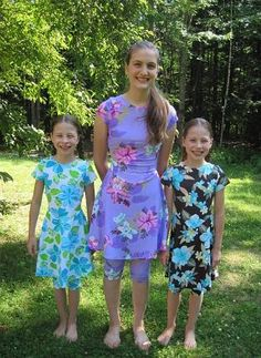 Modest Swimsuits for girls plus in nursing style :)
