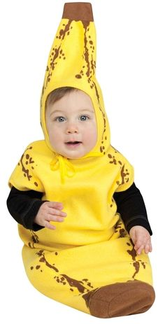 Little Banana Bunting Costume | Baby's First Halloween Costume