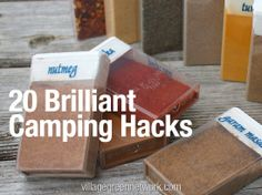 Camping is one of the very best ways to vacation and enjoy the outdoors with your family and friends. However, if you don't have the proper tools and gear, camping can be a misery. Here are 20 brilliant camping hacks that will make your camping trips more enjoyable.