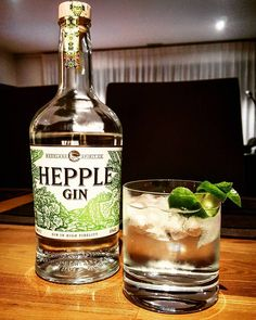 Latest addition to the collection Hepple gin makes a tasty Gin & Tonic. @hepple_gin #ginstagram #gin #craftgin in #ukgin #ginoclock #ginspiration #ginzealand #hepplegin #ginandtonic #gintonictime