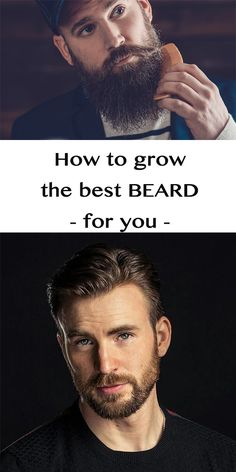 Style and grow your beard