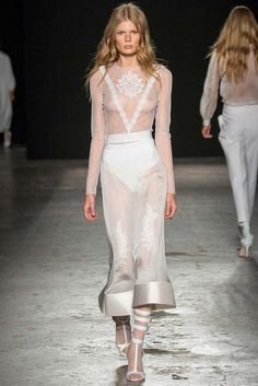 Francesco Scognamiglio Spring 2015 Ready-to-Wear - Collection - Gallery - Look 3 - Style.com