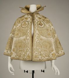 Evening cape Date: ca. 1900 Culture: probably French Medium: wool, silk, metallic Accession Number: 1976.318.16