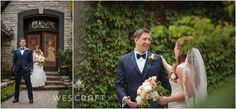 """Michael & Jennifer had a reveal or """"first look"""" prior to the ceremony because their cocktail hour began immediately after the ceremony. This allowed them to have some portraits and enjoy cocktail hour mingling."""
