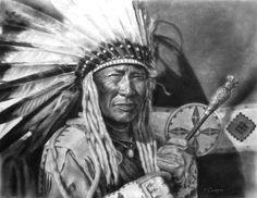 Blackfoot Finery - Native American