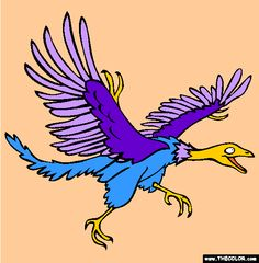 archeopteryx coloring page free archeopteryx online coloring