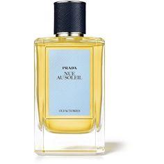 Prada Prada Olfactories Nue Au Soleil Eau de Parfum/3.4 oz. (€270) ❤ liked on Polyvore featuring beauty products, fragrance, apparel & accessories, multicolored, flower fragrance, prada fragrance, eau de perfume, blossom perfume and flower perfume
