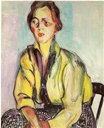 Uma estudante - Anita Malfatti