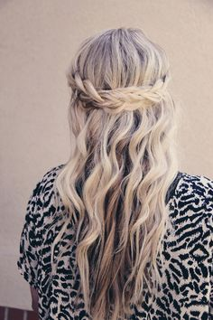 5-Minute Hairstyles and Tips to Live by for the Busy Mom: Braided Crown