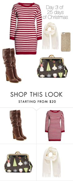 """""""Day 3 of 25 days of Christmas"""" by geekalert21 ❤ liked on Polyvore featuring See by Chloé, Canvas by Lands' End, Buxton, Vivienne Westwood and Michael Kors"""