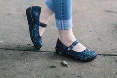 Alegria Shoes Belle in 'Indigo Dream' at Alegria Shoe Shop - now on Closeout!