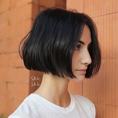 66 Chic Short Bob Hairstyles & Haircuts for Women in 2019 - Hairstyles Trends Bob Hairstyles For Fine Hair, Medium Bob Hairstyles, Lob Hairstyle, Hairstyles Haircuts, 2018 Haircuts, Braided Hairstyles, Short Hair Lengths, Short Hair Cuts, Fall Hair Cuts