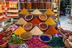 moroccan souk spices - Google Search