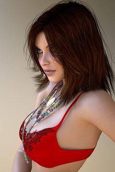 Hot Digital Portraits by RGUS