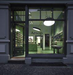 Aesop store by Weiss-heiten // Berlin Mitte | FUTU.PL
