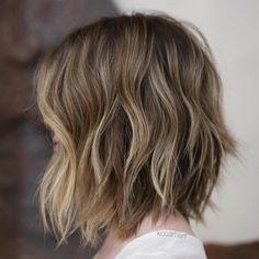 natural hues of blonde and brown