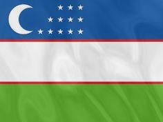 Flag of Uzbekistan/ Vlag van Oezbekistan Turkish People, Flags Of The World, National Flag, Central Asia, Commonwealth, Flags, Flag, Viajes, World Flags