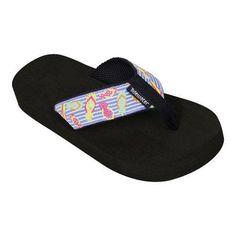 Girls' Tidewater Sandals Floating Flops /White (US Girls' M (Children's /12) M (Regular)), Girl's