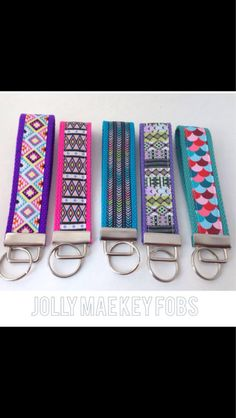Wrist key fob by JollyMaeKeyFobs on Etsy