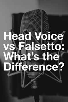 The terms head voice and falsetto have been confused singers for a long time. So let's talk about the difference between these different vocal registers and more importantly, learn how to use them to sing high notes. Vocal Lessons, Singing Lessons, Singing Tips, Music Lessons, Art Lessons, Writing Lyrics, Music Writing, Singing Techniques, Learn Singing