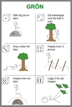 Skogen Educational Activities For Kids, Outdoor Activities For Kids, Outdoor Learning, Fun Learning, Learning Activities, Learn Swedish, Motivation For Kids, Swedish Language, Bingo