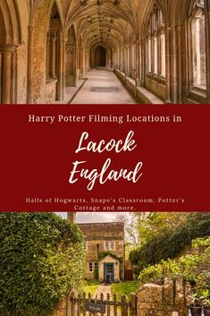 Magical Guide to Lacock Harry Potter Filming Locations Walk the halls of Hogwarts, visit Snape's Classroom, see the Potter's Cottage and more at these Harry Potter filming locations in Lacock, England. Europe Destinations, Europe Travel Guide, Travel Guides, Travel Uk, Beach Travel, Travel List, Travel Goals, Spain Travel, Amazing Destinations
