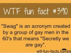 I wonder what other words we say are acronyms?
