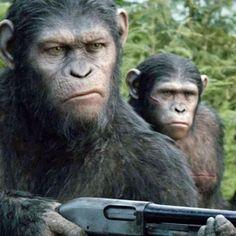 'Planeta dos Macacos: O confronto' com muito mais adrenalina