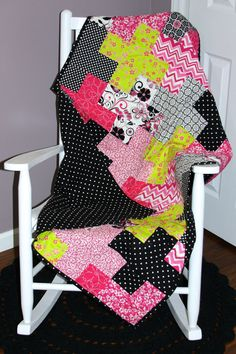 Check out this item in my Etsy shop https://www.etsy.com/listing/208431303/modern-plus-quilt