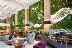 hotel landscape Why Transformative Co-Working Spaces Will Be One of the Hottest Trends of 2018 Design Studio Office, Office Space Design, Workspace Design, Coworking Space, Nomad New York, Koh Chang, Hotels, Community Space, Architecture