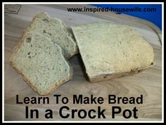 Gluten Free Crock Pot Sandwich Bread Recipe - Why didn't I think of this?! Must try it egg free.....